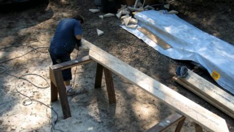 cutting stair stringers