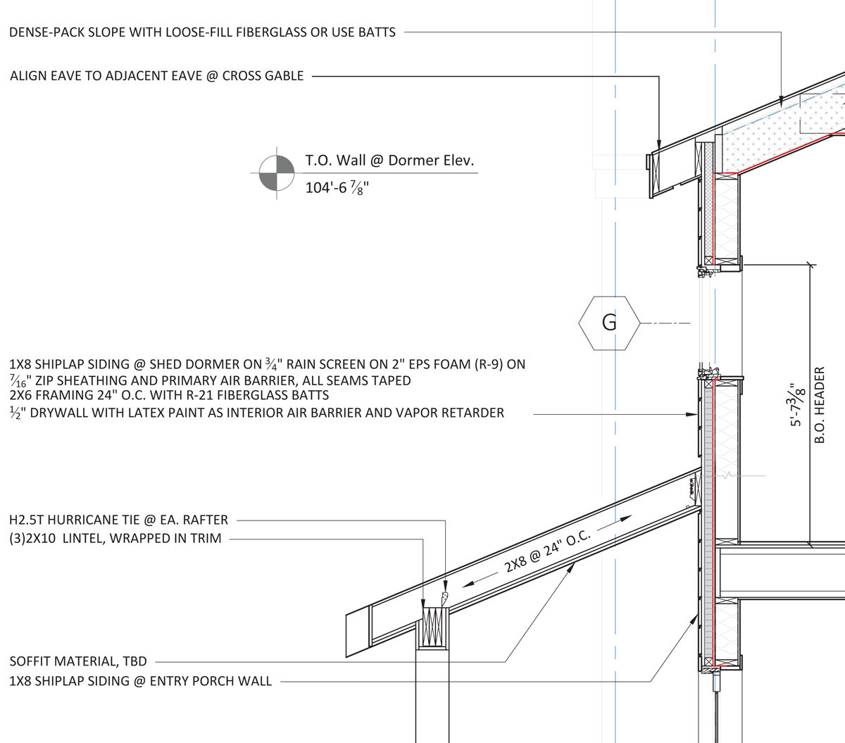 Advanced wall framing – Fine Homebuilding