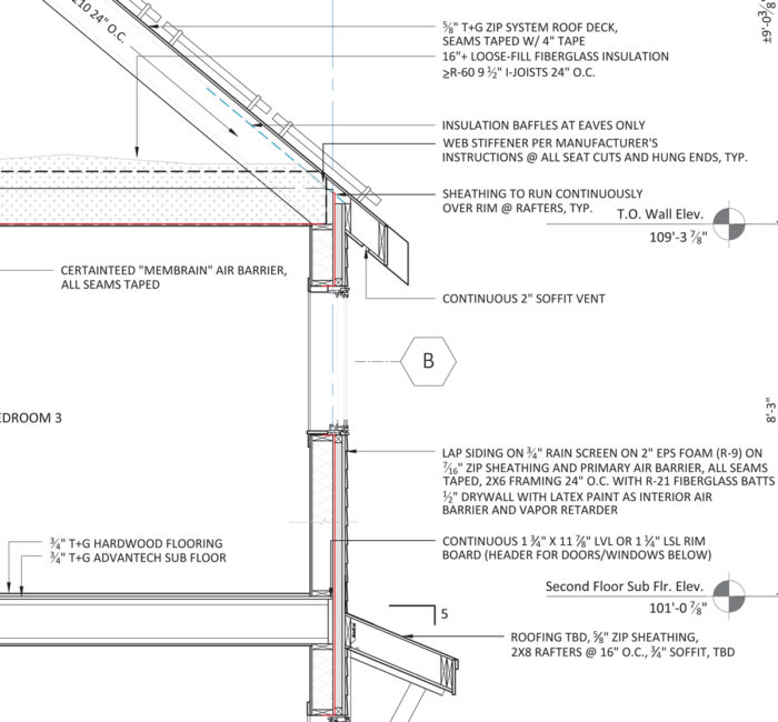 Advanced wall framing - Fine Homebuilding