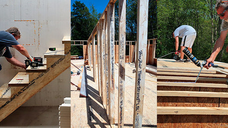 FHB House Framing in Pictures—Phase 1