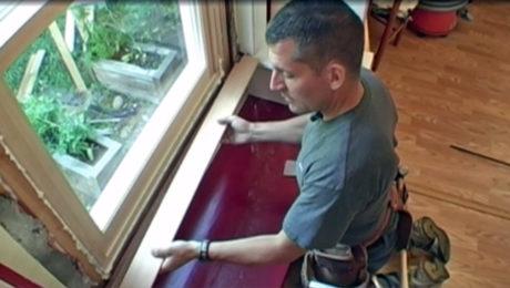 Scott Grice interior window trim installation video