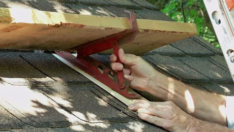 shimming roof jack