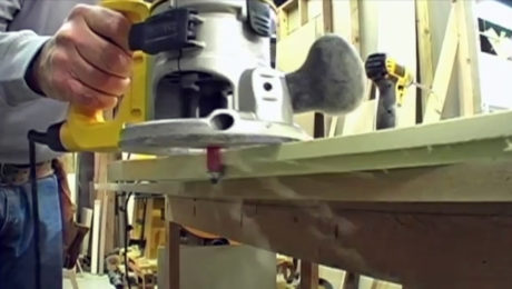 Making Arched Rails With a Router Video