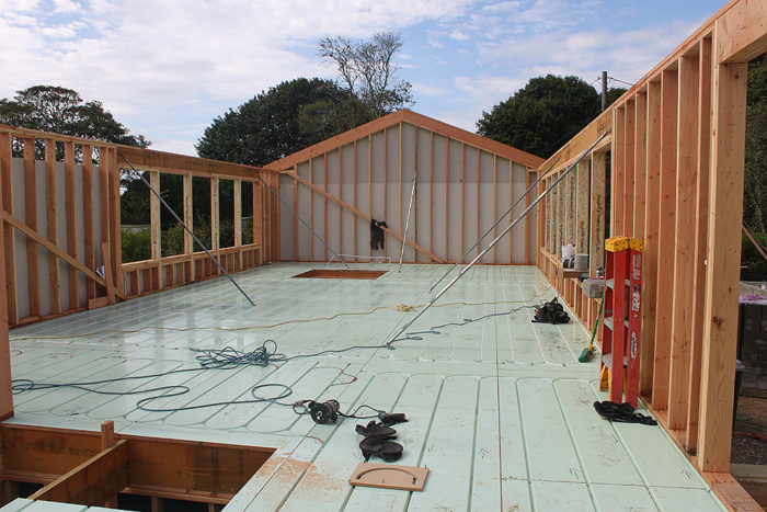 Radiant Ready Subfloor Fine Homebuilding