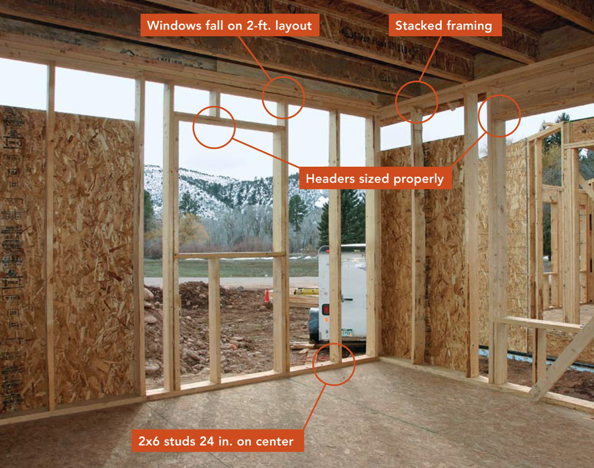 24-in.-on-center Framing - Fine Homebuilding