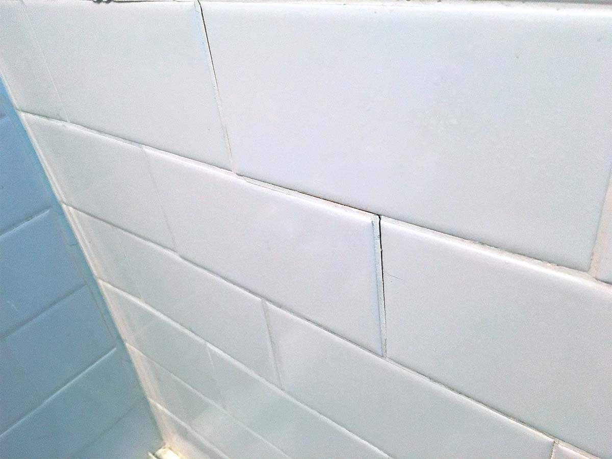 Learn from cracks and grout failures