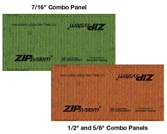 Huber's ZIP sheathing is an excellent air barrier when used with their tape.