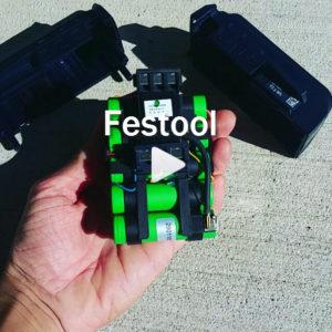Festool battery