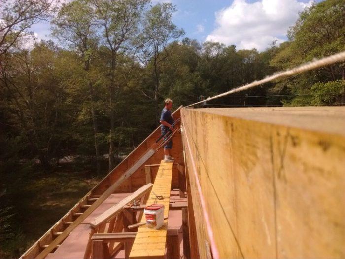 Ridge beam 3