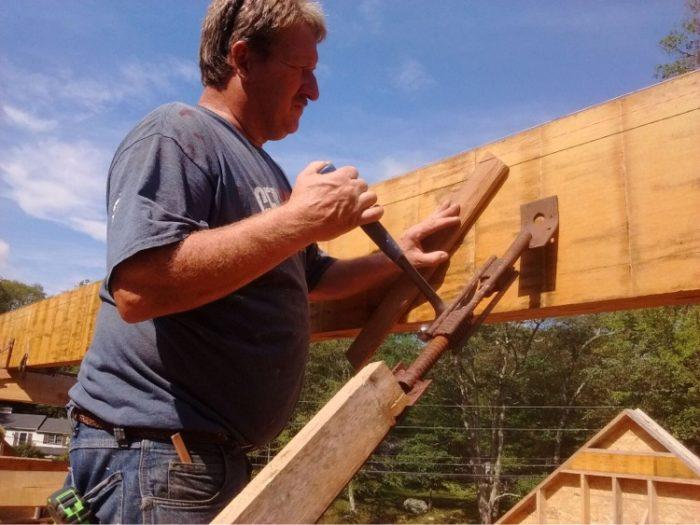 Ridge beam 2