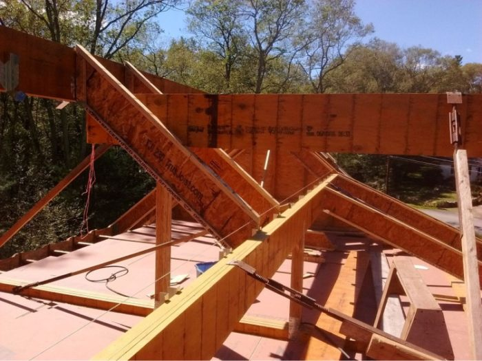 13 Microllam Beams Frame The Roof Skeleton Fine Homebuilding