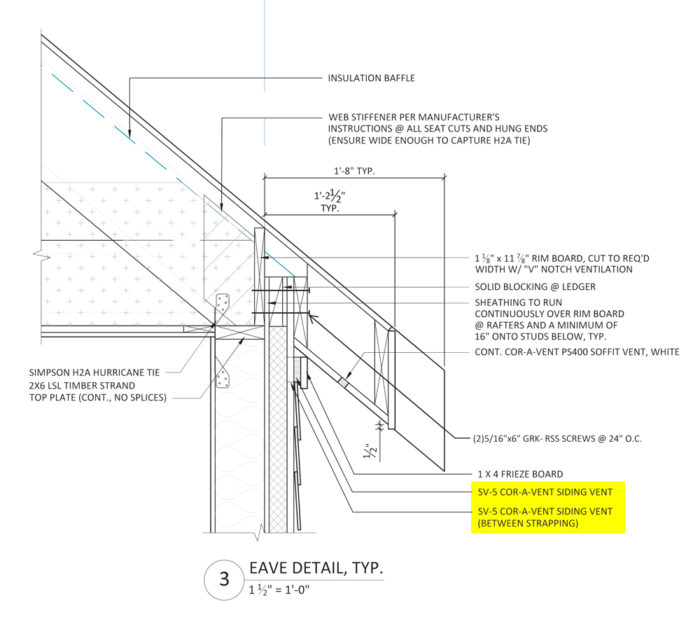Apple Construction Dimensions: Roof-Overhang Design