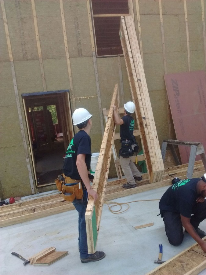 Cutting And Installing I Joist Rafters Fine Homebuilding