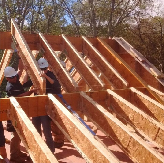 Steel Ceiling Joists: Cutting And Installing I-Joist Rafters