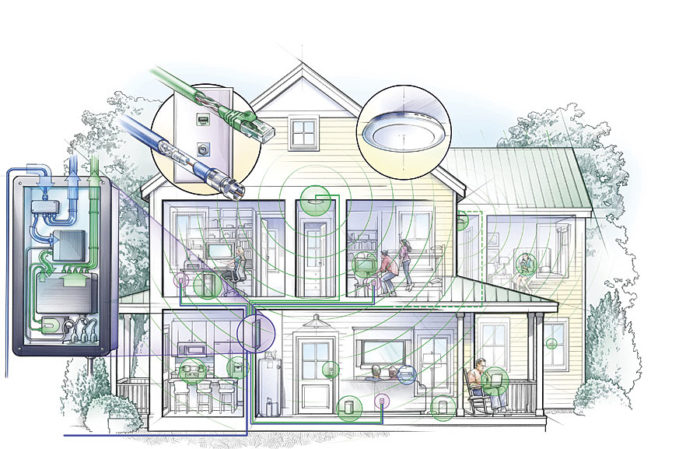 Wired for Wireless Fine Homebuilding