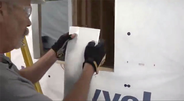Install And Flash A Flanged Window Using Flexwrap And
