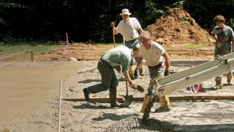 slab fondations