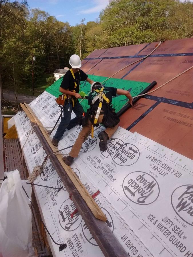 Roof underlayment 2