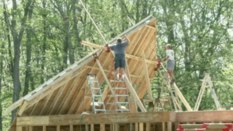building a house with advanced framing methods