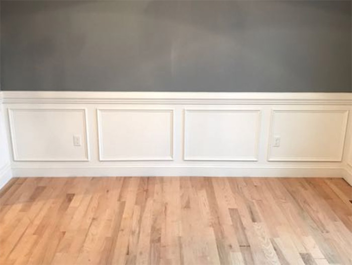 Simple Shadow Box Detail - Fine Homebuilding on wainscoting wall with window, wainscoting at windows, wainscoting panels under windows, wainscoting ideas, wainscoting dining room with window,