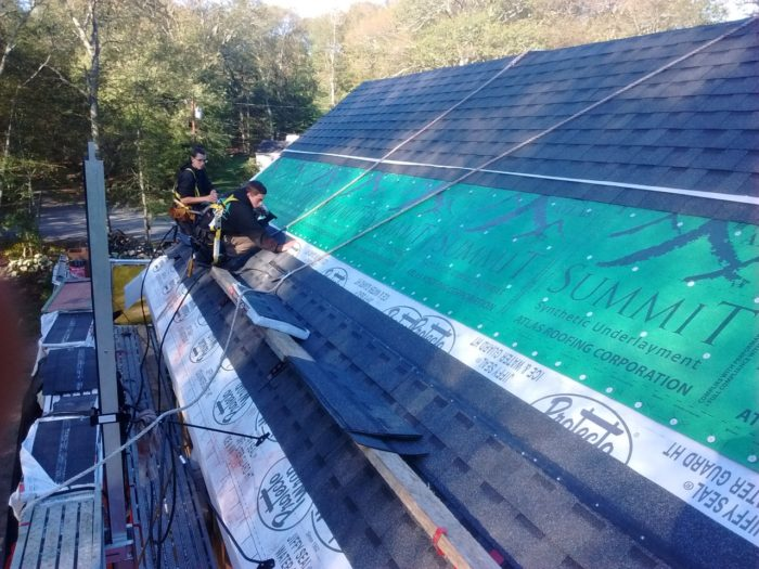 Upside Down Roofing Fine Homebuilding