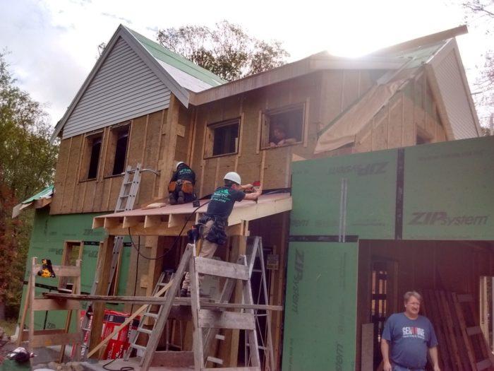 Front Porch Framing - Fine Homebuilding