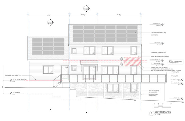 ProHOME final south elevation