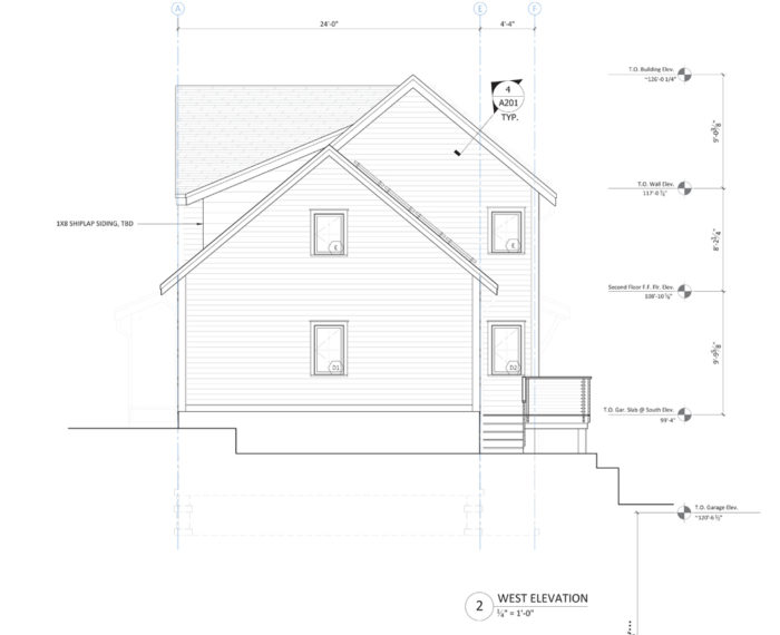ProHOME west elevation