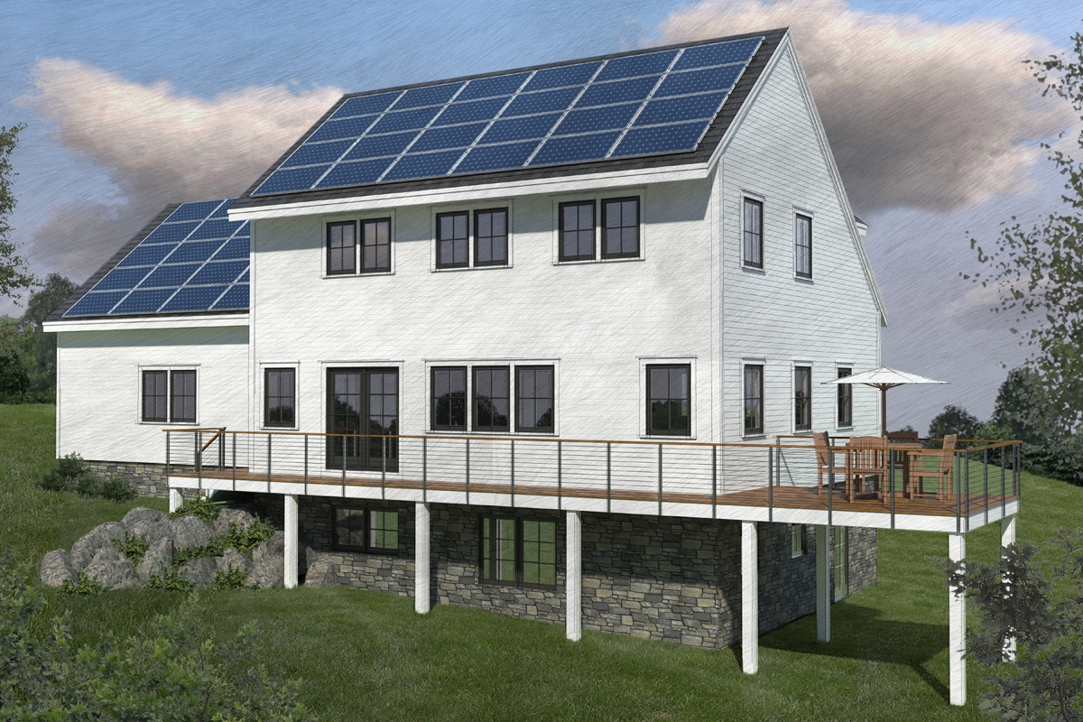Roof Pitch And Orientation For Pv Fine Homebuilding