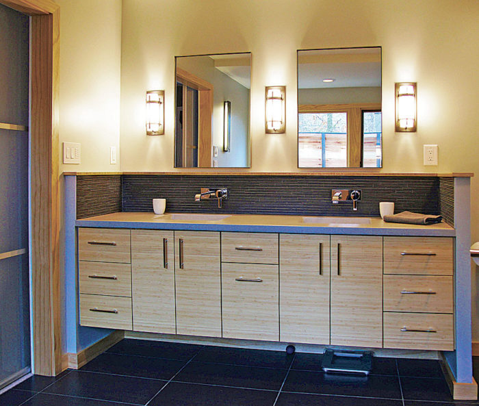 synopsis although bathroom styles differ lighting a bathroom properly is a key element in its design lighting designer peter romaniello discusses the