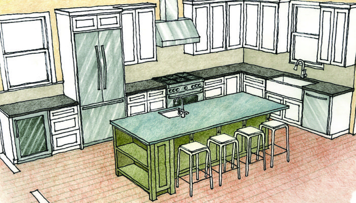 Whether They Are Planning A Kitchen For A New Home Or Remodeling Their  Existing Kitchen, Most Of My Clients Ask For An Island As Soon As We Start  To Talk ...