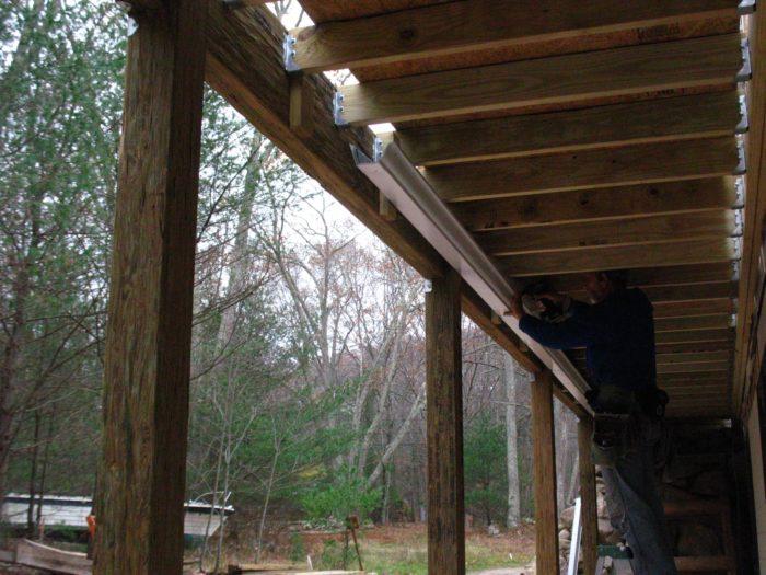 Site Built Deck Drainage System Fine Homebuilding
