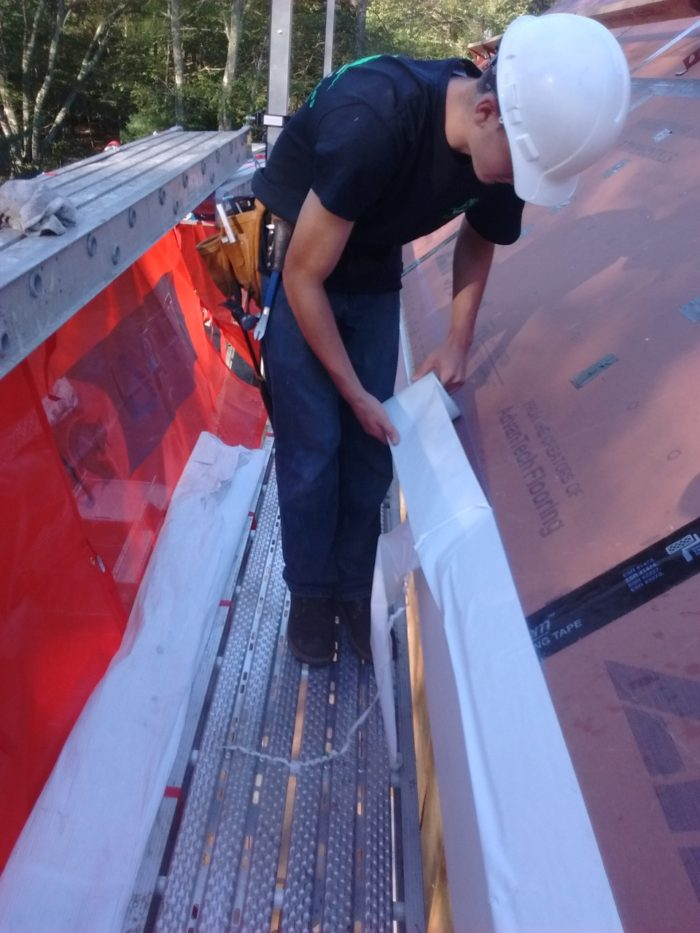 Fascia To Roof Seal Fine Homebuilding