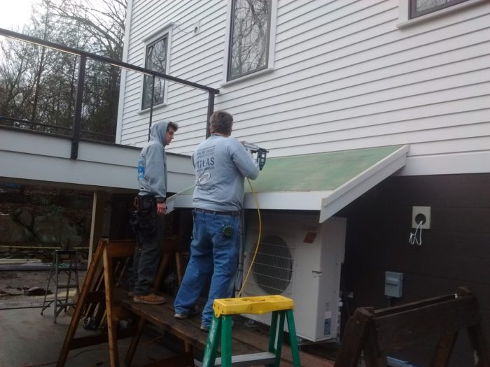Roof For Outdoor Unit Fine Homebuilding