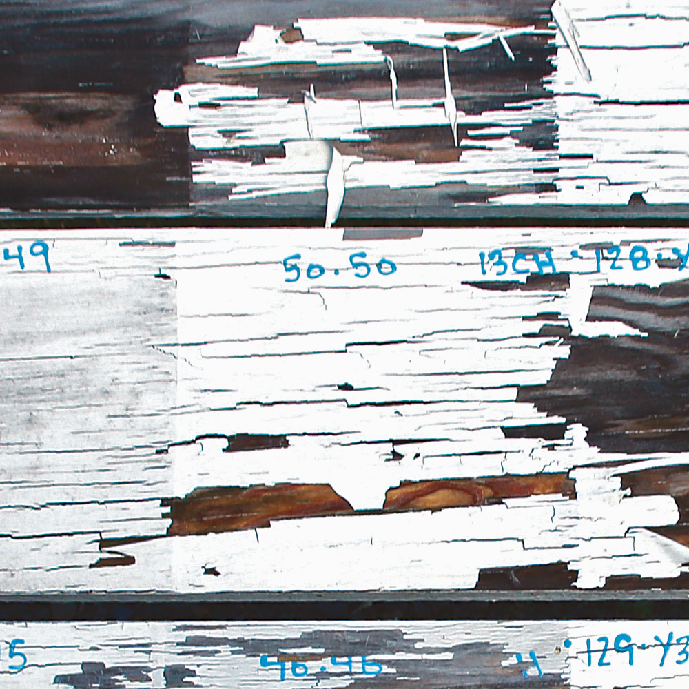 paint cracking and flaking