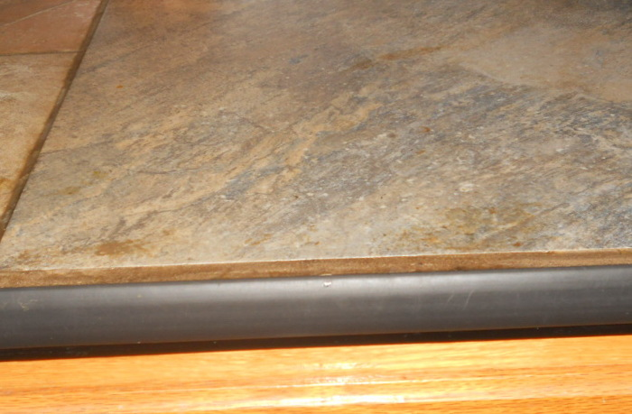 Vinyl Floor Divider Material As Counter Top Edging Fine