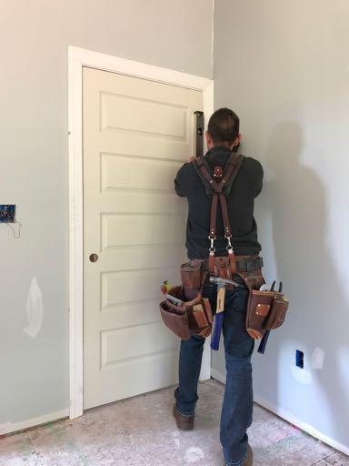 nailing Door