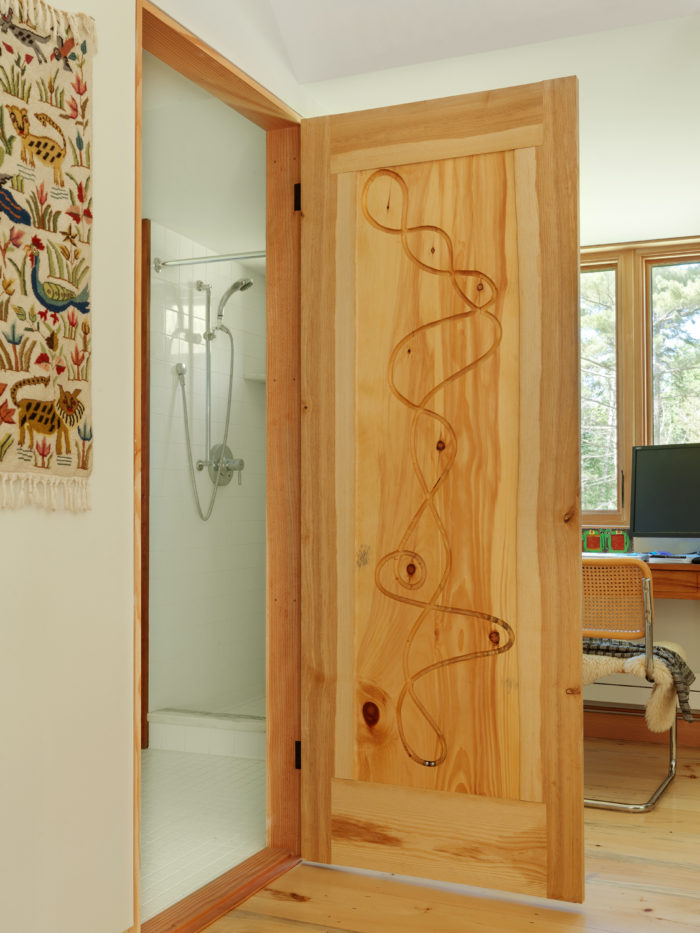 Article Image & Marble-Drop Door - Fine Homebuilding