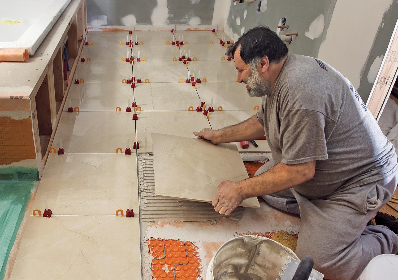 Laying Large Tile Fine Homebuilding