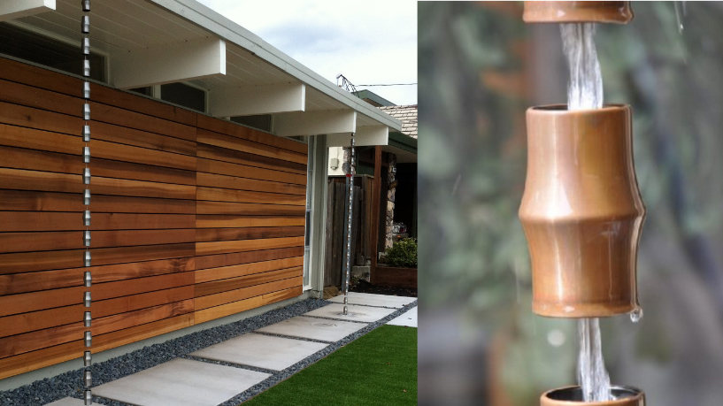 Functional Water Feature Fine Homebuilding