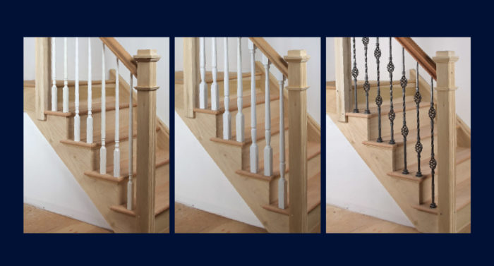 As A Custom Stair Builder, Iu0027ve Installed Miles Of Railing And Balusters.  Designs Vary, But The Style Of Balusters Breaks Down To Three Main Types:  Pin Top, ...