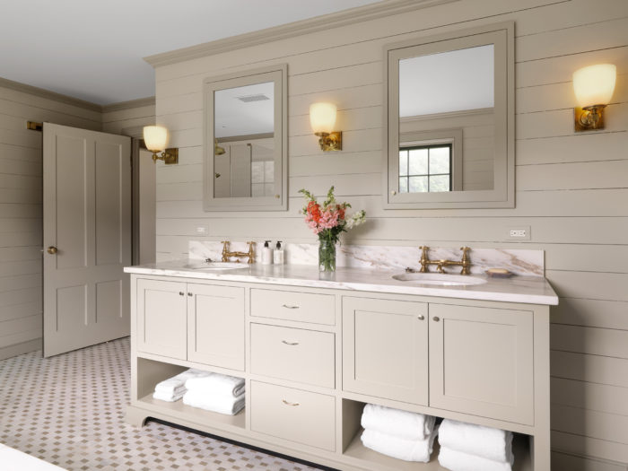 Master Bath Vanity For Two Fine Homebuilding