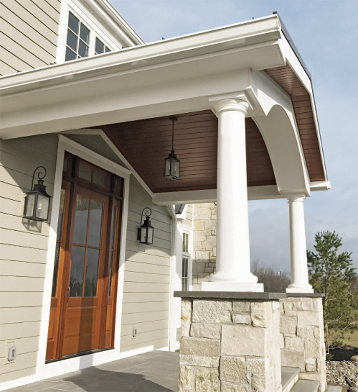 Good Looking Porch Ceiling Fine Homebuilding