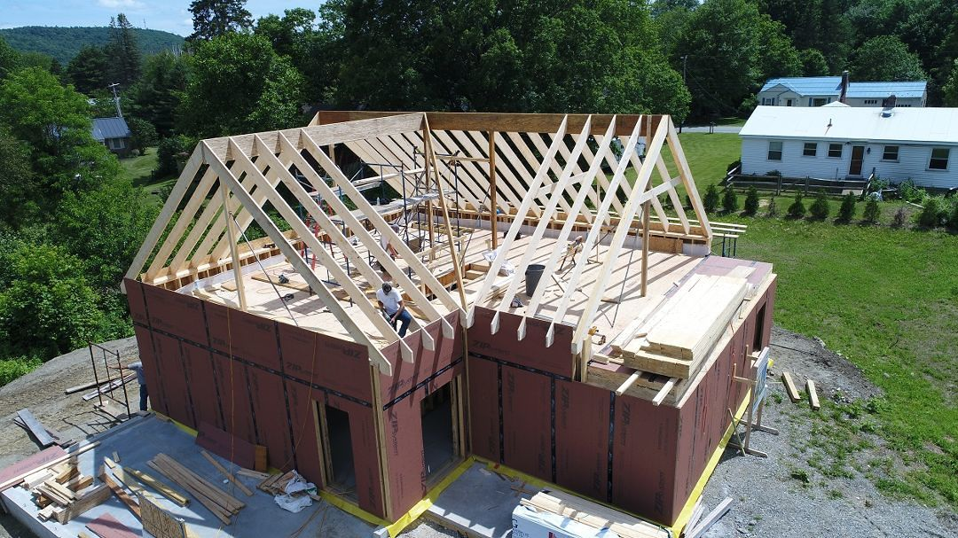 Fhb House Framing In Pictures Roof System Fine
