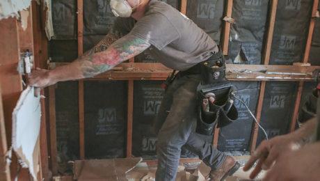 DIY kitchen demolition