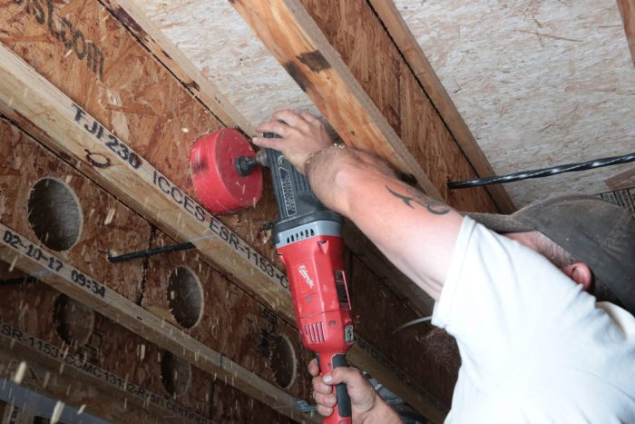 Running Ducting For The Erv Fine Homebuilding