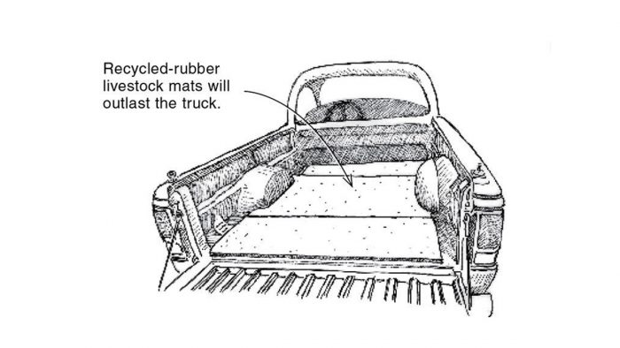 Easy And Inexpensive Pickup Bed Saver Fine Homebuilding