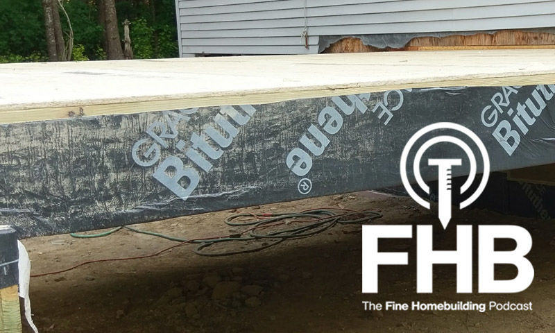 Podcast Episode 82 Brian S Roof Question Fine Homebuilding