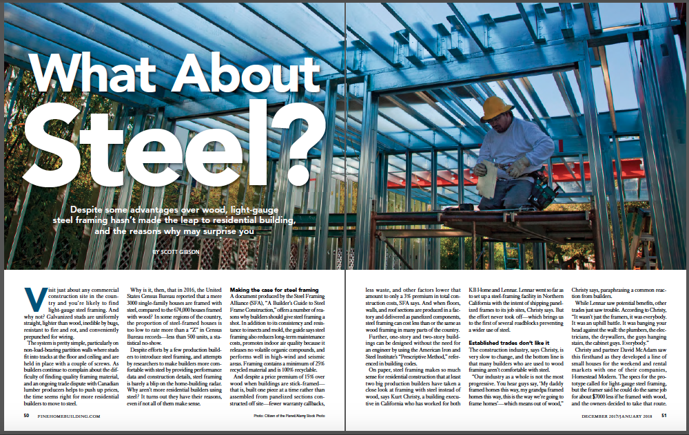 what about steel magazine spread