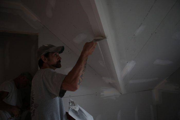 Interior Wall Finishing With Trim-Tex Drywall Bead - Fine